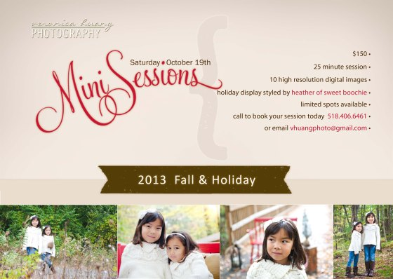 mini session holiday