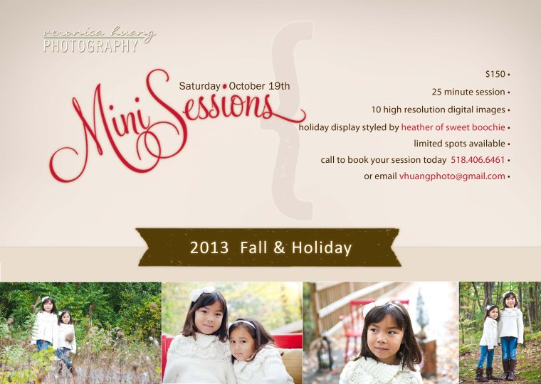 mini session holiday